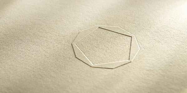 Pentagramm beige